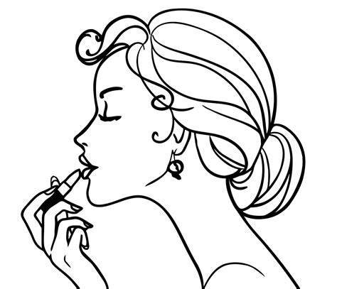 pretty hair coloring pages pretty girl coloring page coloring home