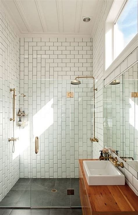vertical subway tile shake it up 7 creative new ways to lay subway tile