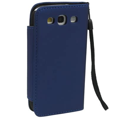 Leather With Holder Lanyard For Samsung Galaxy Siii Pink portable wallet leather with holder lanyard for samsung galaxy siii i9300 blue