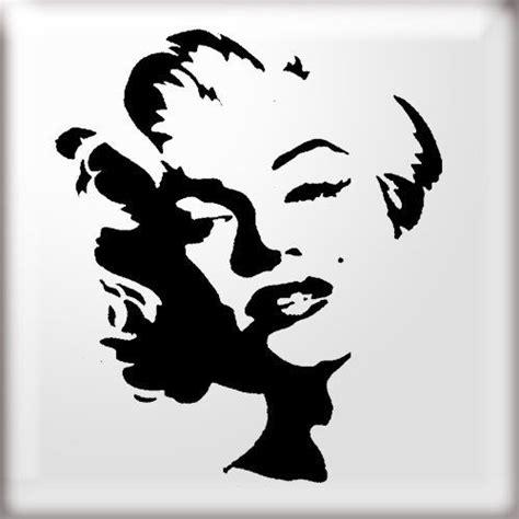 Banksy Wall Sticker details about stencils marilyn monroe stencil reusable
