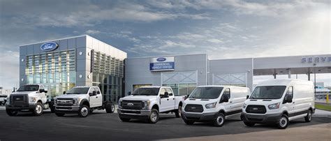 ford commercial ford commercial vehicle center program keeps fleet and