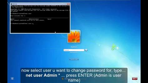 reseter mg2570 win7 reset windows 7 password without cd or software youtube