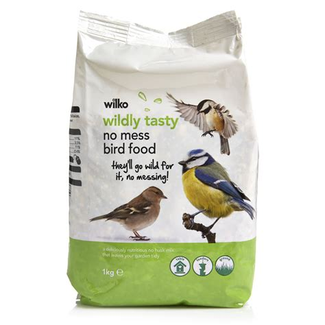 wilko wild bird no mess mix seed 1kg at wilko com