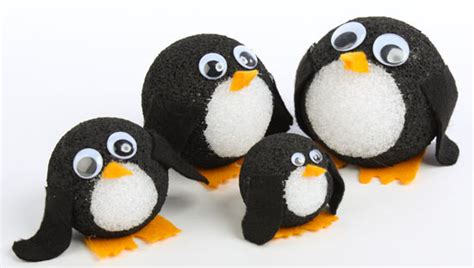 craft balls the wobbly bunch styrofoam penguins factory direct