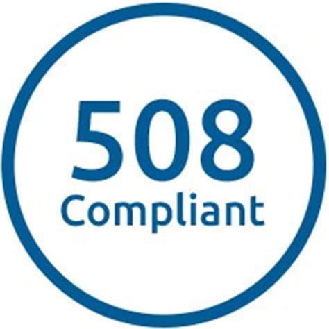 508 wcag compliant