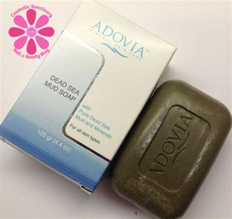 Adovia Dead Sea Mud Soap adovia dead sea mud soap review cosmetic sanctuary