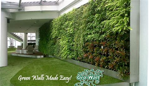 wall garden system atlantis grow wall 174 vertical garden system product ods