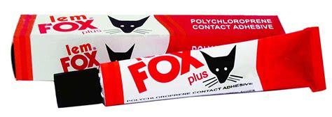 Lem Fox Kuning 1kg gudang material toko bahan bangunan harga murah
