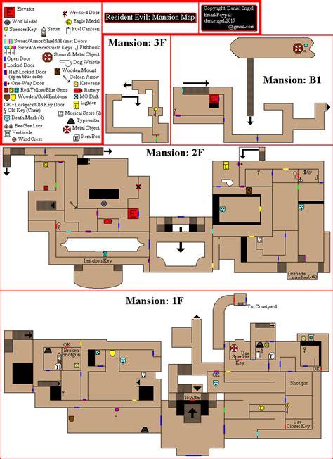 download layout bin for resident evil 4 resident evil mansion map for gamecube by dengel gamefaqs