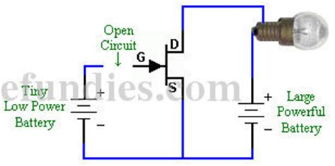 fet transistor gate current intro to transistors efundies
