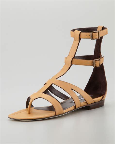 Po Flat Vnc Neww Arrival manolo manolo blahnik sandals sale reduction up