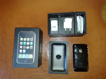 Its Finally Here The Iphone 3g by Iphone 3g Unboxing Techeblog