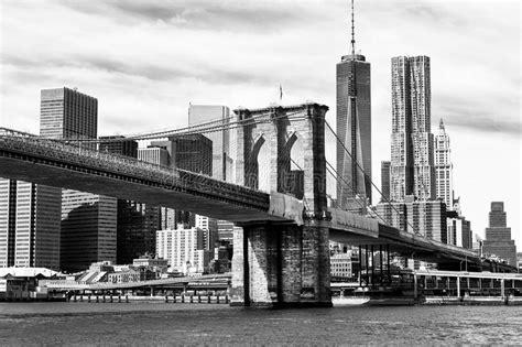 imagenes en blanco y negro nueva york horizonte blanco y negro de nueva york foto de archivo