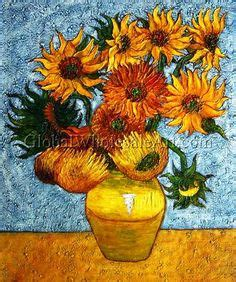 14 Sunflowers In A Vase by 14 Sunflowers In A Vase Gogh Artwork I