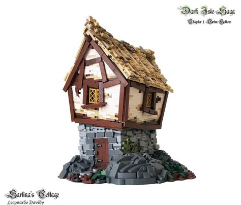 lego cottage lego houses inspired by the lord of the rings and