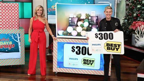 Ellen 15 Day Giveaway - ellen 12 days of giveaways day 11 electronics youtube