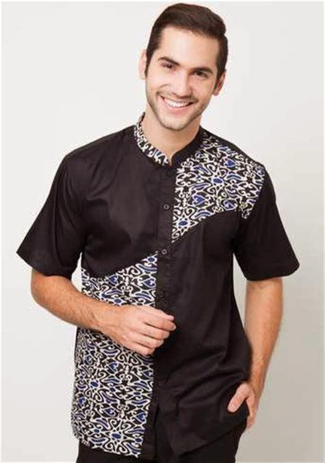 Baju Muslim Pria Kombinasi Batik Tren Model Busana Batik Muslim Pria Desain Terbaru