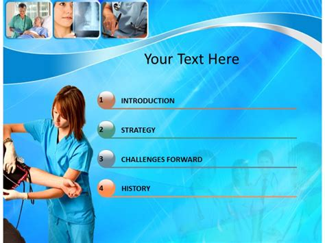 Nursing Care Powerpoint Templates And Backgrounds Nursing Powerpoint Templates