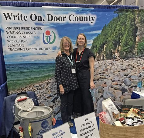 Write On Door County by Write On Door County Makes A At Writing Conference