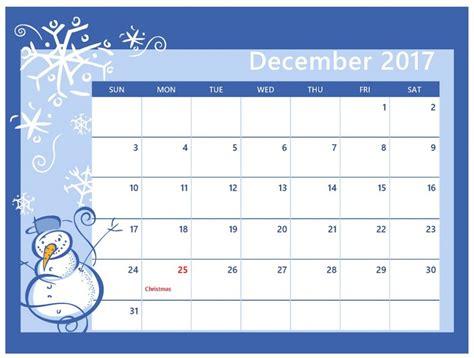 Calendar Canada December 2017 Calendar Canada