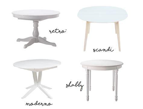 tavoli bianchi tavoli tondi bianchi allungabili sotto i 500