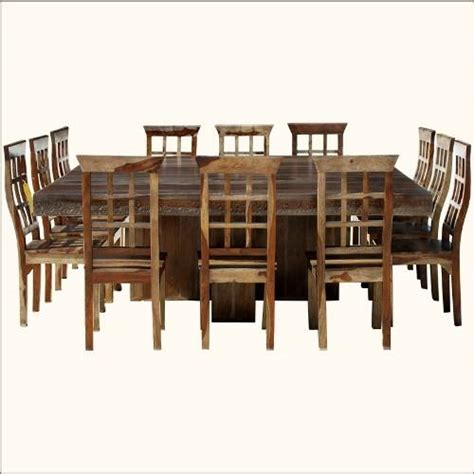 square dining table for 12 custom made dining table seats 12 images frompo