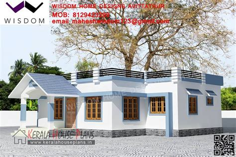 1008sqft Small Budget Kerala House Design And Elevation Small Upstair House Plans In Kerala