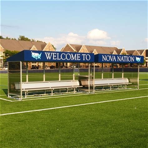 portable soccer bench canopy aae athletic sports field benches shelters bleachers