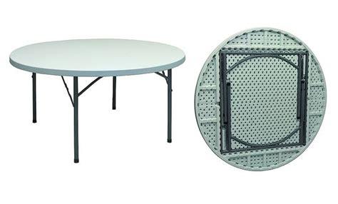 tavoli pieghevoli per catering tavolo rotondo pieghevole per catering diam 180 pieghevole
