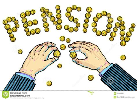 clipart pensione pension stock illustration image 56396882