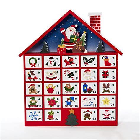 wooden advent calanders santa house wooden advent calendar christmasshack