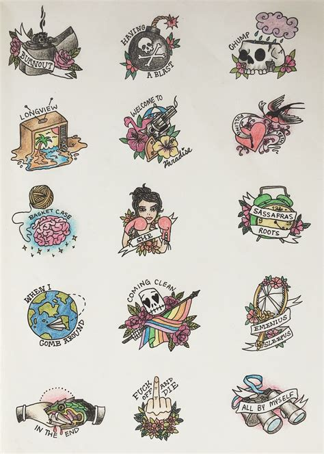 green day tattoo green day dookie tattoos tattoos