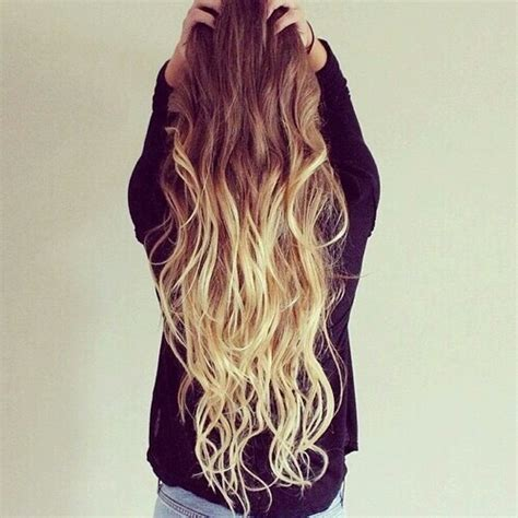 brown and blonde ombre with a line hair cut blonde hair brown hair long blonde hair long hair