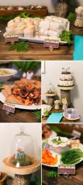 a modern woodland themed baby shower the umbrella