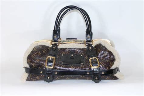 Louis Vuitton 2007 by 2007 Louis Vuitton Limited Edition Shearling Bag For