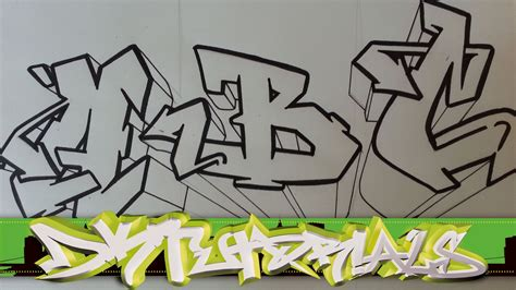 Graffiti Words To Draw How To Draw Graffiti Wildstyle Graffiti Letters Abc Step