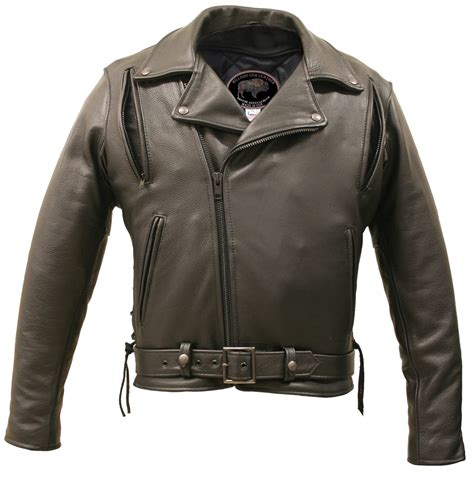 vented leather motorcycle american bison vented biker jacket hillside usa leather