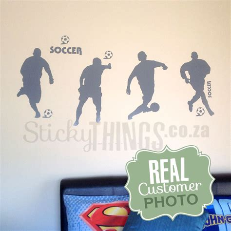 wall stickers south africa soccer wall decal football wall sticker south africa