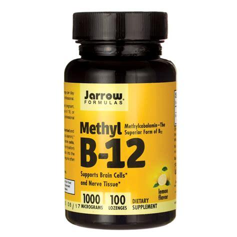 Methylcobalamin Also Search For Jarrow Formulas Inc Methyl B 12 Methylcobalamin 1 000