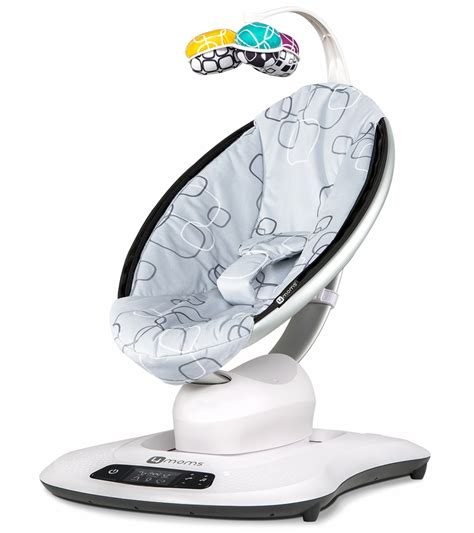 mamaroo baby swing reviews 4moms mamaroo 4 baby swing silver plush