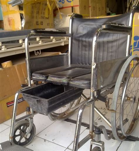 Kursi Roda Lipat Bekas kursi roda bekas 2 in 1 bab toko medis jual alat kesehatan