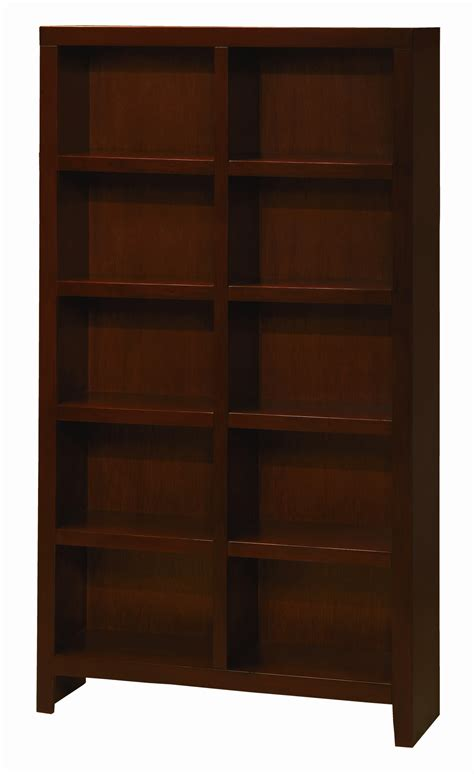 hudson 9 cube bookcase aspenhome essentials lifestyle cl4077 chy 77 inch cube