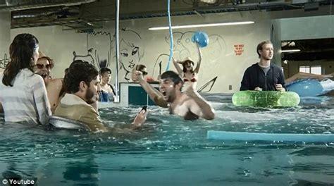 Swim Office by Zuckerberg In Own Cringe Worthy Home