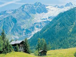 alps mountain cabins and cabin on