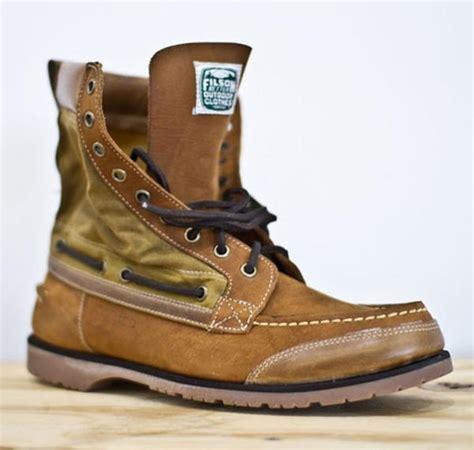 Sepatu Boot Kickers Winter sebago x filson f w 2011 collection 192 d 233 couvrir
