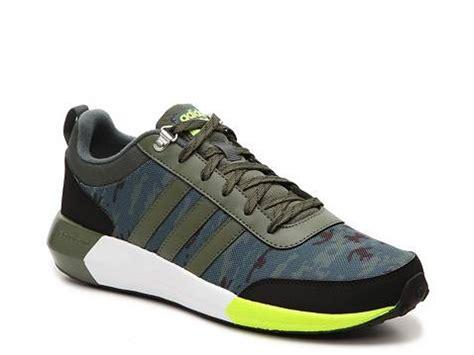 Adidas Neo Cloudfoam Speed Camo adidas neo cloudfoam race camo sneaker mens dsw