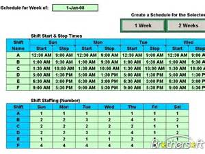 daily shift schedule template free schedule daily shifts schedule