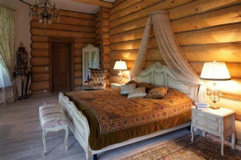 интерьеры деревянных домов фото внутри гостиной кухни - 9x9 Schlafzimmer