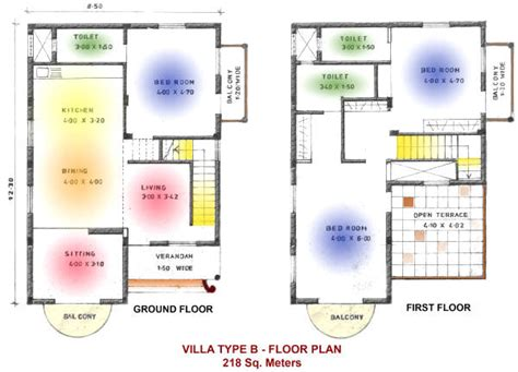 sample of floor plan for house