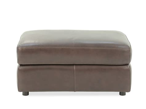 bernhardt ottoman bernhardt winslow leather ottoman mathis brothers furniture